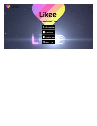 Likee (formerly LIKE) is a popular global original video creation and sharing platform