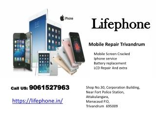 Online mobile phone repair service Trivandrum