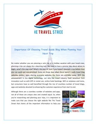 Best Travel Advice Websites