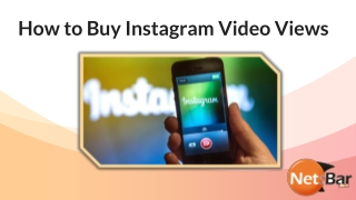 How to buy Instagram Video Views
