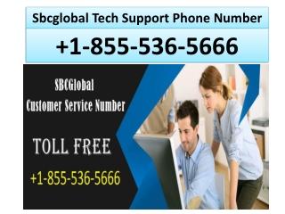 Sbcglobal Support Number 1855-536-5666