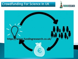 Crowdfunding For Science In UK