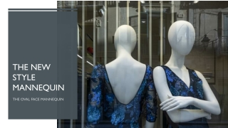 The new style mannequin