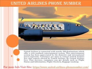 United Airlines Phone Number - Call At 1 844 516 2170