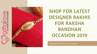 Top Rakhis of Latest Designs for Raksha Bandhan Occasion