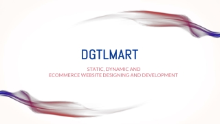 Static Dynamic and E commerce Website Designing an