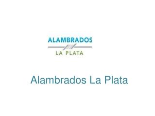 Alambres La Plata Precios   Alambrados La Plata