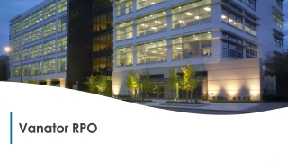 Why Choose Vanator RPO Services ?