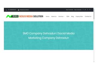 SMO Company Dehradun