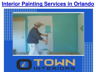 Interior Painting Services in Orlando