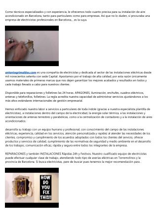 5 lecciones de vida real sobre electricista Barcelona 24 horas