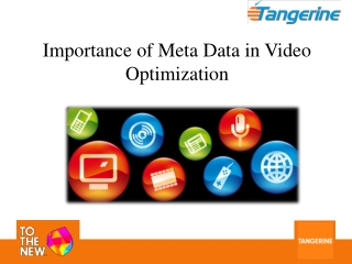 Importance of Meta Data in Video Optimization