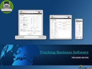 Advance Business Software for Trucks