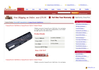 LENOVO T430s Battery, ThinkPad T430s Charger/AC Adapter