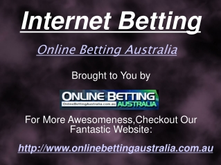 Internet Betting