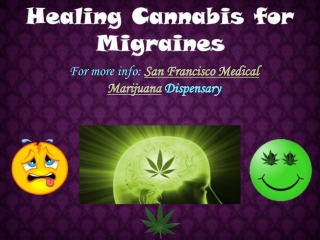 Healing Cannabis for Migraines
