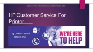 Get Premium HP Customer Service 24*7 at your doorstep