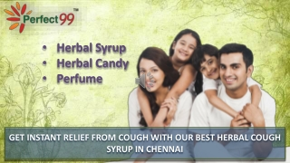 GET INSTANT RELIEF FROM COUGH WITH OUR BEST HERBAL COUGH SYRUP IN CHENNAI