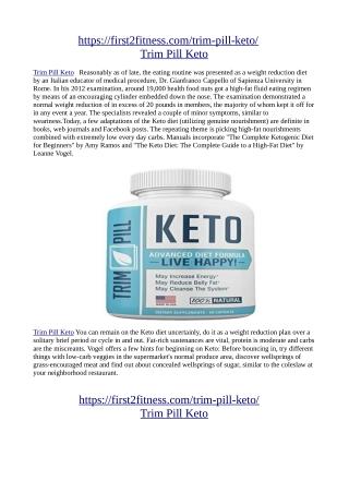 https://first2fitness.com/trim-pill-keto/