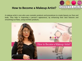 How to Become a Makeup Artist?