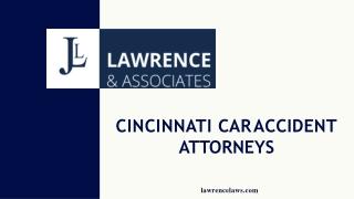 Cincinnati Car Accident Attorneys
