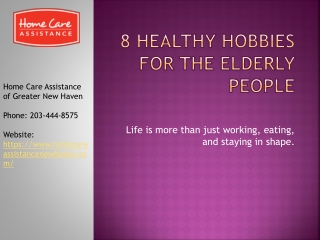 Healthy Hobbies for Seniors to Stay Healthy in Their Golden Years