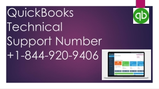 Quickbook technical support number
