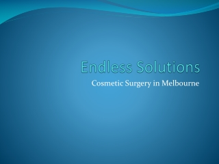 Endless Solutions - breast implants