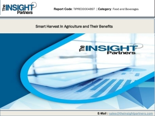 Smart Harvest In Agriculture and Their Benefits