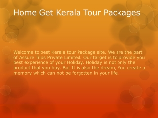 kerala tour packages | tour packages in kerala | kerala packages