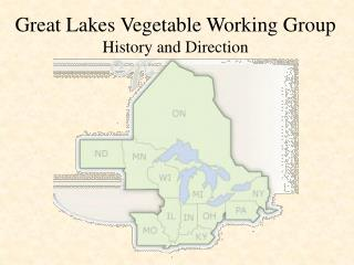 Great Lakes Vegetable Working Group History and Direction