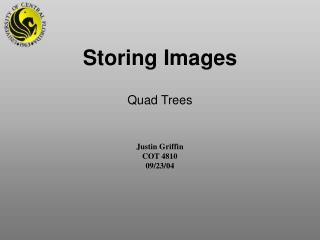 Storing Images