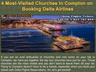 4 Most-Visited Churches in Compton on Booking Delta Airlines