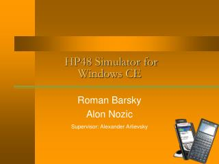 HP48 Simulator for Windows CE