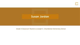 Susan Jordan Norton MA - Provides Consultation in Student Growth