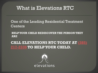 What is Elevations RTC