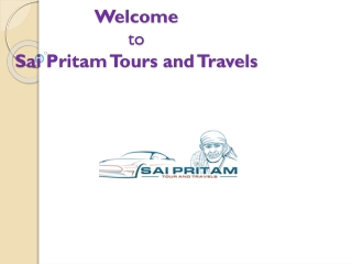 Taxi & Cab Services In Bhubaneswar - Sai Pritam Tours & Travels