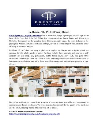 La Quinta - The Perfect Family Resort
