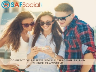 Connect With New People Through Friend Finder Platform