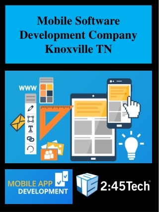 Mobile Software Development Company Knoxville TN