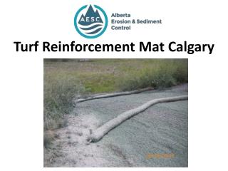 Turf Reinforcement Mat Calgary