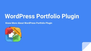 WordPress Portfolio Plugin-Know More About WordPress Portfolio Plugin