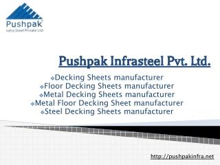 Decking Sheets manufacturer