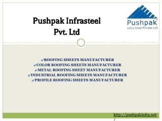 Roofing Sheets manufacturer