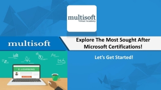 Explore The Most Sought After Microsoft Certifications!