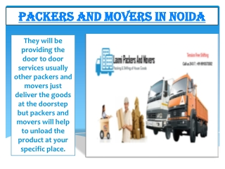 Packers and Movers in Noida |
