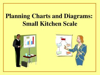 Planning Charts and Diagrams:  Small Kitchen Scale