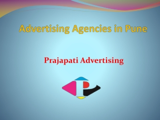 Best Advertising Agency in Pune - Prajapati Advertising