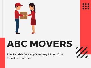 Best moving service LA