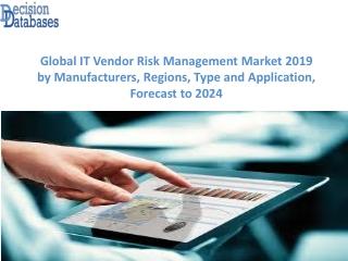 IT Vendor Risk Management Market Report: Global Top Players Analysis 2019-2024